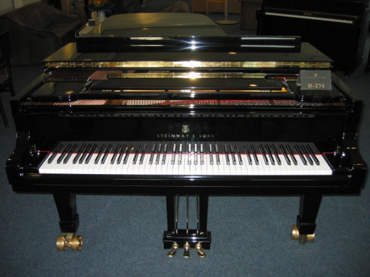 Steinway and Sons grand