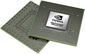 the NVIDIA card is the GPU, and is a very powerful, dedicated GPU designed for gamers