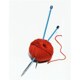 ...is all you need for Class 1 of Beginner Knitting with Lee!  So grab some yarn and a knitting needle and let's begin!