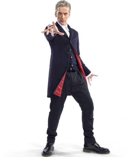 Peter Capaldi takes over as the latest incarnation of the Doctor in 2014