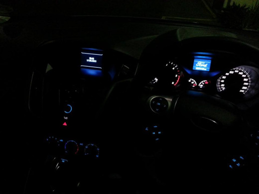Ford focus interior dashboard
