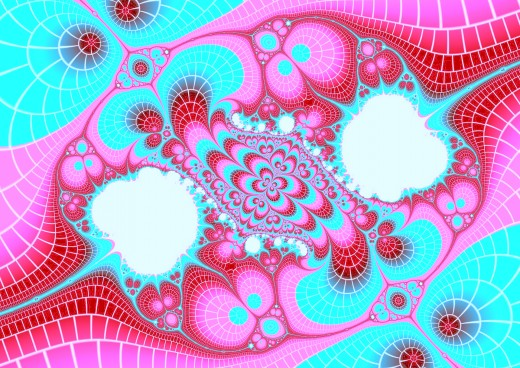 Blue, red, and pink fractal. Full-size: http://hubpages.com/u/8728859.png