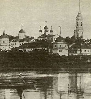 The monastery of Optina Pustyn, where Dostoevsky was a frequent visitor.