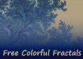 100 Free Fractal Images Organized by Color