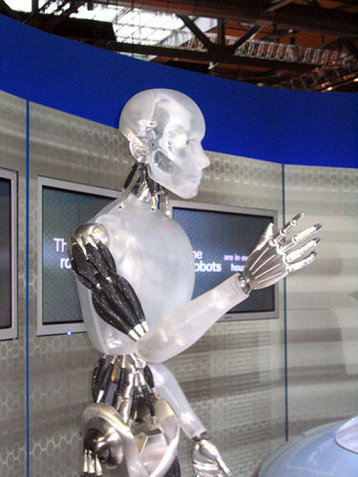 I, Robot from Stefan Imhoff flickr.com