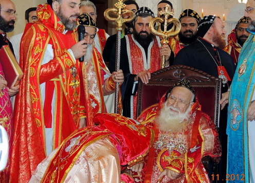 Matthews Ramban is being named as Mor Timotheos by Holy father the Patriarch, Supreme head of Syrian Orthodox Church His Holiness Moran Mor Ignatius Zakka I