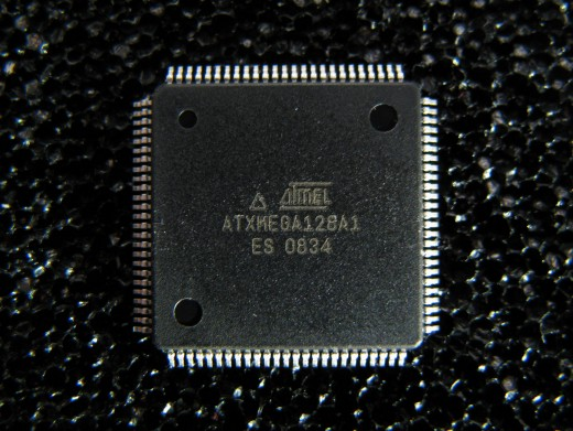 A Microcontroller chip which is programmed to perform a particular task.