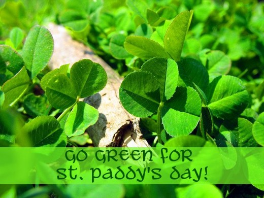 Go green for St. Patrick's Day this year!