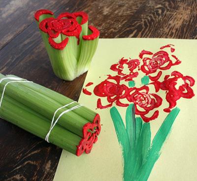 Celery Paintings