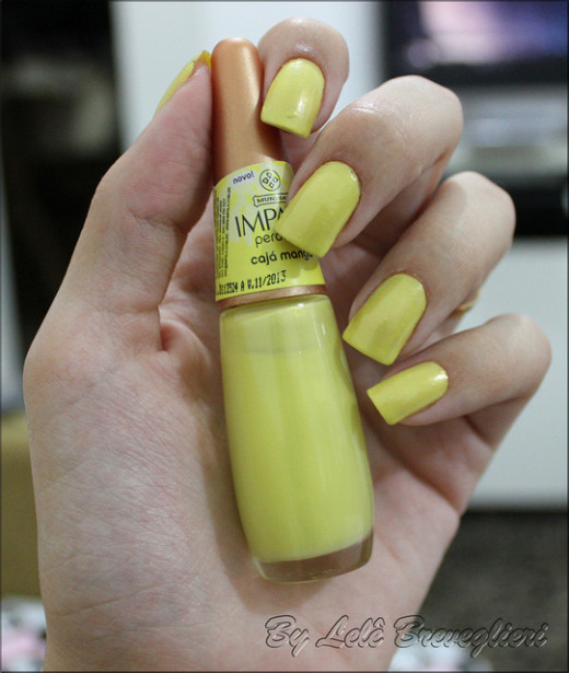 Pretty nail polish can brighten your day!