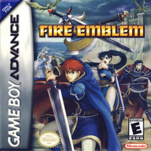 The cover for the first English release in the series, Fire Emblem
