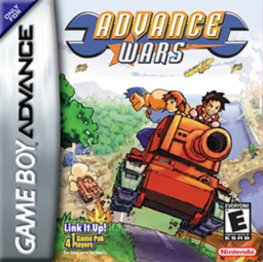 Advance Wars for the Game Boy Advance