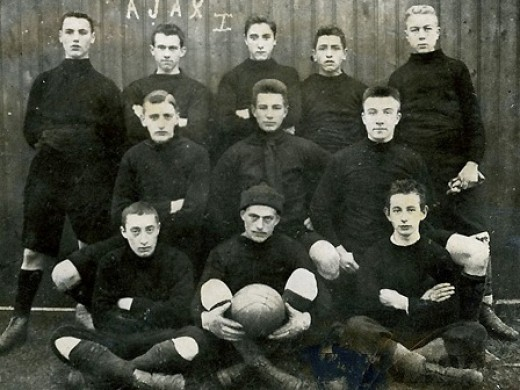 The First Team of Ajax in 1900