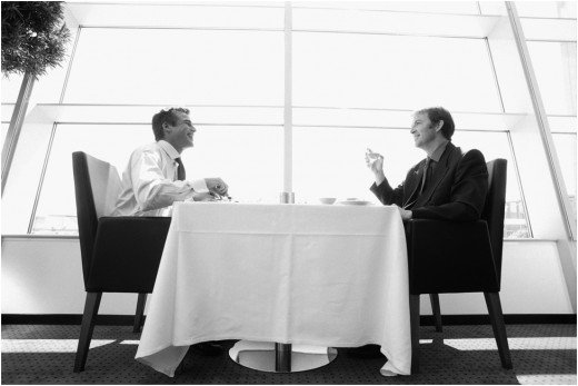 Court professionals and experts, invite them out to lunch, and pay the bill.