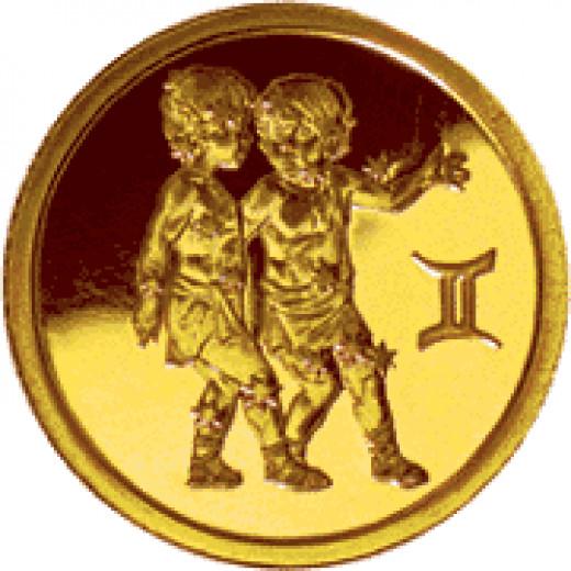 Gemini Medallion