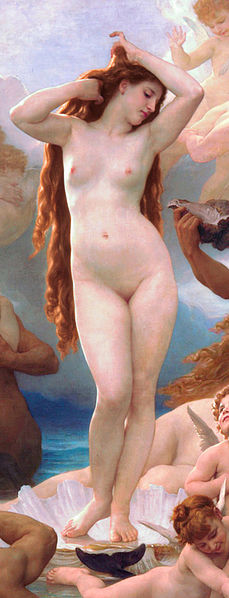 The Birth of Venus by William-Adolphe Bouguereau  Water Emotes