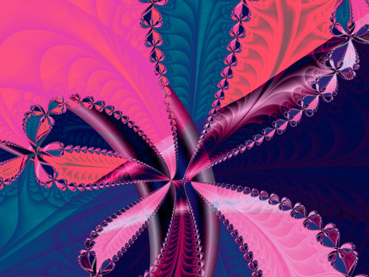 Magenta and blue fractal. Fulll-size: http://hubpages.com/u/8732181.png