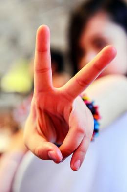 Peace Man! from Daniel Go flickr.com