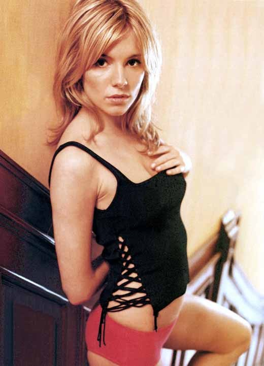 Sexy Sienna Miller in an unknown hot photo shoot