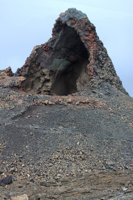 Manto de la Virgen - 'The Mantle of the Virgin' - a natural volcanic grotto high in the Timanfaya National Park