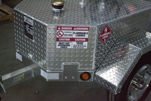 Another fuel tank trailer option from Gas Trailer.