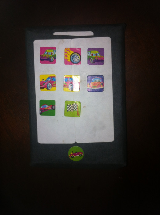 Square stickers look just like apps!
