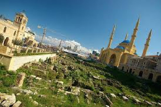 A Garden of Forgiveness in Beirut, Lebanon