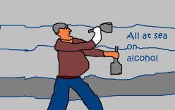 Alcohol can destroy lives if badly handled.