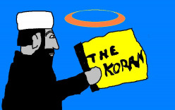 The Koran came about at a time when there were not so many people on planet earth.