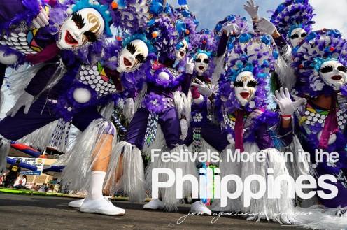 Festivals. More Fun in the Philippines.