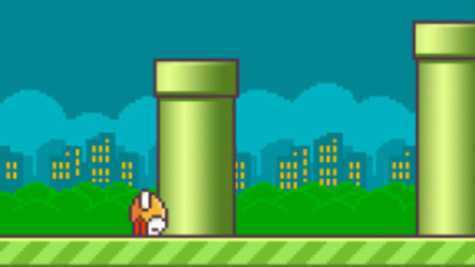 Flappy Bird hit its last pipe.
