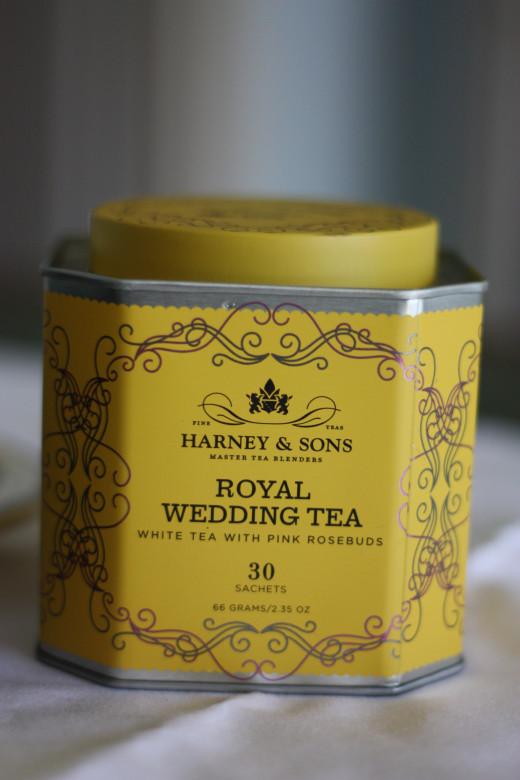 Harney & Sons Royal Wedding Tea: A White Tea Blend