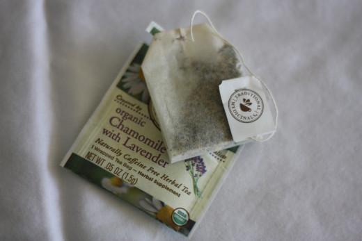 Chamomile and Lavender Herbal Tea