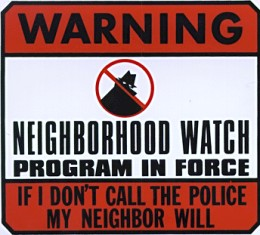 Oh, but don't worry. They won't respond to my neighbor, either.