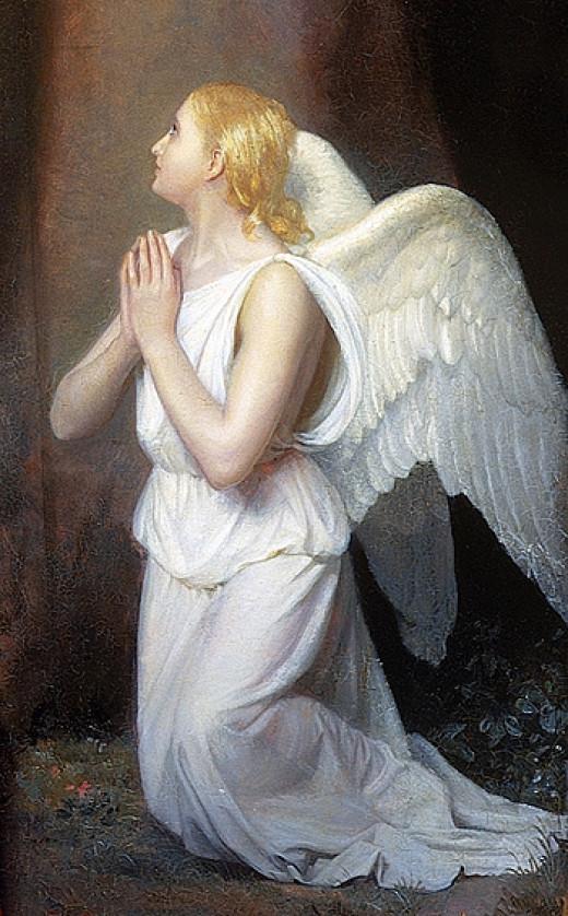 My Guiding Angel.