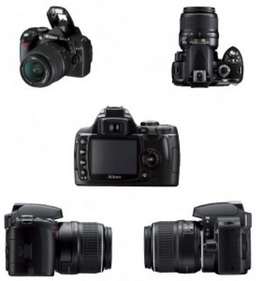 nikon d40 slr. Nikon D40 DSLR