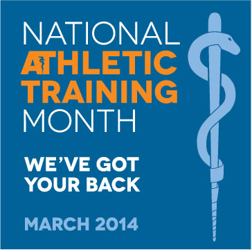 Every March is National Athletic Training Month