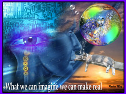 YES our imagination skills can set us FREE