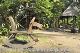 Chiang Dao Nest has rocking horses for little ones.