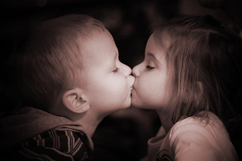 Ideas about love are established very early on and are often representative of beauty and innocence.  Much of our developing morality depends on parental practices and beliefs as our guide.