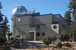 Vatican Advanced Technology Telescope (VATT) located at Mount Graham, Arizona.