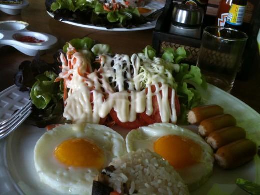 The western breakfast