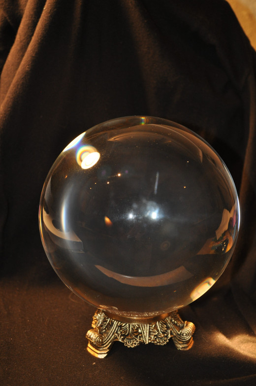 clairvoyant gypsy crystal ball