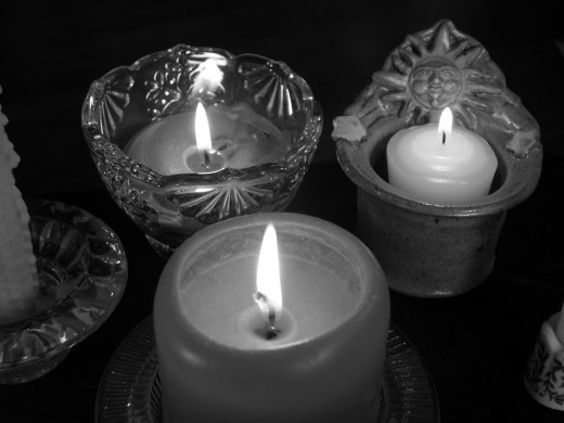 crystal candle votive holders