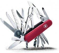 Review of the Victorinox Swiss Army SwissChamp Knife