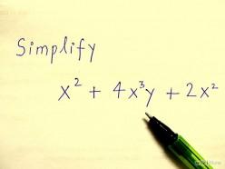 Maths help: Algebra - how do you simplify algebraic expressions? How do you add algebraic expressions?