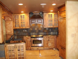 After the remodel.  By Home Finishings, Inc. in the Vail Valley, Colorado.
