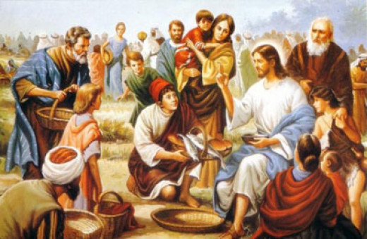 Jesus Christ demonstrated His power to the people by regularly circulating amongst the crowds.