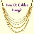 Hanging Cable Problems -- Catenary Math
