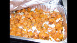 Father And Son Duo Prepare Their Southern Glazed Candied Yams (Grub With Hub)